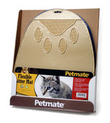 Petmate Flexible Litter Mat | Durable Rubber Cat Pan Accessory