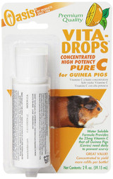 Oasis Vita Drops Pure Liquid Vitamin C 2 oz | For Guinea Pigs