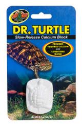Zoo Med Dr. Turtle Slow Release Medicated Calcium Sulfa Block Aquatic Reptiles