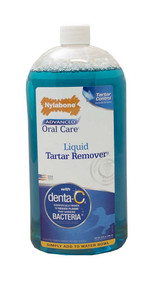 Nylabone Advanced Oral Care Liquid Tartar Remover 32 ounce | For Dogs