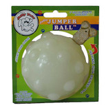 Jolly Pets Jumper Ball Glow In The Dark 4 inch | Erratic Rubber Dog Treat Toy