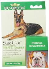 Bio-Groom Sure Clot 14 gram | Fast Acting Styptic Powder for Pets