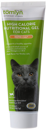 Tomlyn Nutri-Cal Cat Supplement High Calorie Dietary Extremely Palatable 4.25 oz