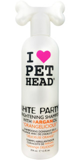Pet Head White Party Brightening Shampoo 12 oz | Orangelicious | For Dogs