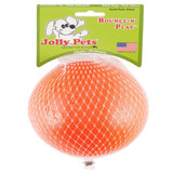 Jolly Pet Bounce-N-Play Ball Orange 4.5 inch | Vanilla Scented Rubber Dog Toy