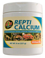 Zoo Med Repti Precipitated Calcium Carbonate without D3 Ultra Fine 8oz