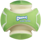 Chuckit KICK FETCH Max Glow in the Dark Kick Ball Dog Toys Large Rechargeable 3D
