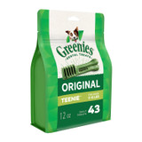 Greenies Original Teenie Size 43 count 12 oz | Dental Chew Treats for Dogs