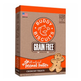 Buddy Biscuits Oven Baked Peanut Butter 14 oz | Natural Crunchy Treats for Dogs