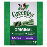 Greenies Original Large Size 17 count 27 oz | Dental Chew Treats for Dogs
