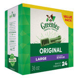 Greenies Original Large Size 24 count 36 oz | Dental Chew Treats for Dogs