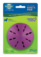 PetSafe BUSY BUDDY TWIST N TREAT Dog Toy Chew and Treat Dispensing SMALL