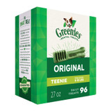 Greenies Original Teenie Size 96 count 27 oz | Dental Chew Treats for Dogs