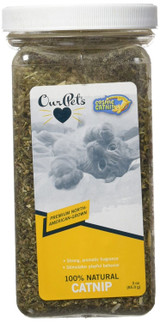 OurPets PREMIUM North-American Grown Catnip 3 oz Jar Cosmic Catnip for Cats