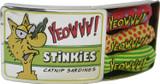 YEOWWW! Stinkies Catnip Sardines | Pure Leaf and Flowertop | 3 Toys in a Tin