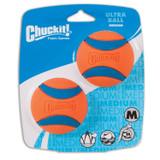 Chuckit! Dog Fetch Toy ULTRA BALL Durable Rubber Fits Launcher MEDIUM
