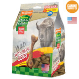 Nylabone Healthy Edibles Wild Bison Flavor Bone Small 16 count | Treats for Dogs
