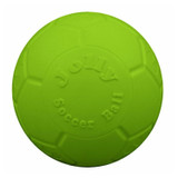 Jolly Pets Soccer Ball Green 8 inch | Apple Scented Rubber Chew Toy for Dogs