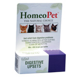 HomeoPet Feline Digestive Upsets 15 ml | Homeopathic Stomach Relief for Cats