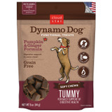 Cloud Star Dynamo Dog Pumpkin & Ginger Tummy 5 ounce | Grain Free Soft Treats