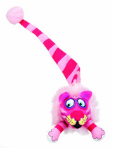 Fat Cat Kitty Hoots Tail Chaser 15 inch | Colorful Catnip Toy