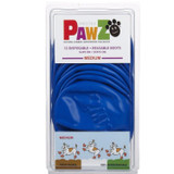 PawZ Protex Dog Boots Water-Proof Paws Disposable Reusable Medium Blue