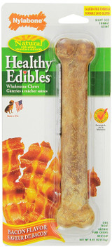 Nylabone Healthy Edibles Large Bacon Flavored Chew For Dogs over 50 Pounds