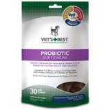 Vet's Best Probiotic Soft Chew Supplements for Dogs 4.2 oz