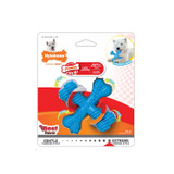 Nylabone Power Chew Beef Flavored Small X Bone for Dogs up to 25 Pounds