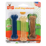 Nylabone Flexi Chew Small Bones for Dogs up to 15 Pounds Variety Pack