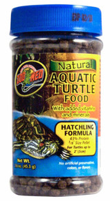 Zoo Med Natural Aquatic Turtle Hatchling Food Vitamin Mineral 1.6 oz