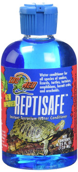 Zoo Med ReptiSafe Instant Terrarium Water Conditioner 4.25 oz for Reptile Bowls