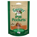 Greenies Pill Pockets Cheese Flavor for Dogs 3.2oz 30ct Tablets