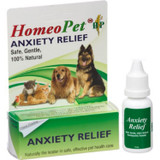 HomeoPet Anxiety Relief 15 ml | Homeopathic Remedy for Dogs Cats and Birds
