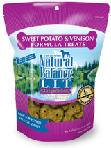 Natural Balance L.I.T. Limited Ingredient Dog Treats Venison & Sweet Potato 14oz