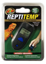 Zoo Med Labs ReptiTemp Digital Infrared Terrarium Thermometer for Reptiles