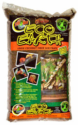 Zoo Med Eco Earth Loose Coconut Fiber Substrate for Reptiles 8 quarts