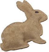 Ethical Spot Dura-Fused Leather and Jute Rabbit Small Durable Toy for Dogs