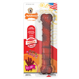 Nylabone Power Chew Textured Beef Jerky Flavored Large Chew Toy for Dogs