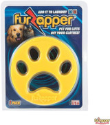 FurZapper 1 Pack Pet Hair Remover for Laundry both Washer and Dryer