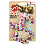 SPOT Catch N' Release Catnip Toys for Cats 2 Pack