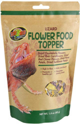 Zoo Med Flower Food Topper for Lizards 1.4 ounce
