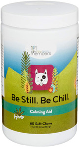 Be Still Be Chill Calming Aid Soft Chews for Dogs - 60 Count