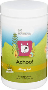 Achoo Allergy Aid Soft Chews for Dogs - 60 Count