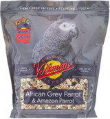 Volkman Seed Avian Science African Grey Parrot Beta Carotene Calcium Rich 4lbs