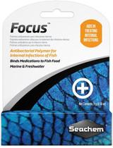 Seachem Focus Antibacterial Polymer Aids In Treating Internal Infections 5 Grams