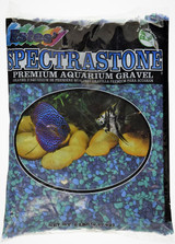 Estes Spectrastone Blue Jean Color Plant Based Coating Aquarium Gravel 5 pounds