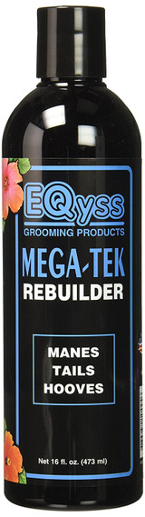 EQyss Mega-tek Rebuilder 16 oz | Grooming For Horse Manes Tails and Hooves