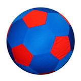 Horsemen's Pride Mega Equine Soccer Ball Blue COVER Durable Washable Toy 30 inch