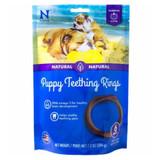 N-Bone Puppy Teething Ring Pum PKin Delicious Low Fat Puppies Chew Treats 6 PK